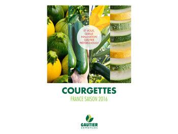 Nouvelle brochure Courgettes